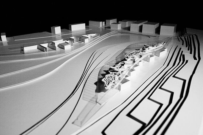近代建築 模型写真